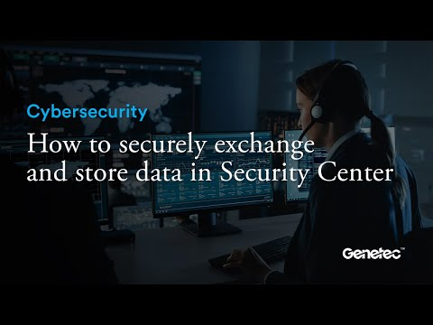 Cybersecurity - Security Center data security demo