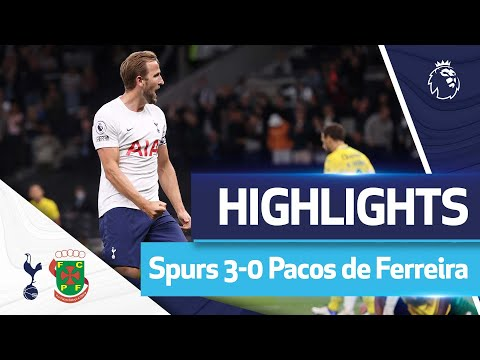 Kane scores his first double of the season!  HIGHLIGHTS |  SPURS 3-0 PACOS DE FERREIRA