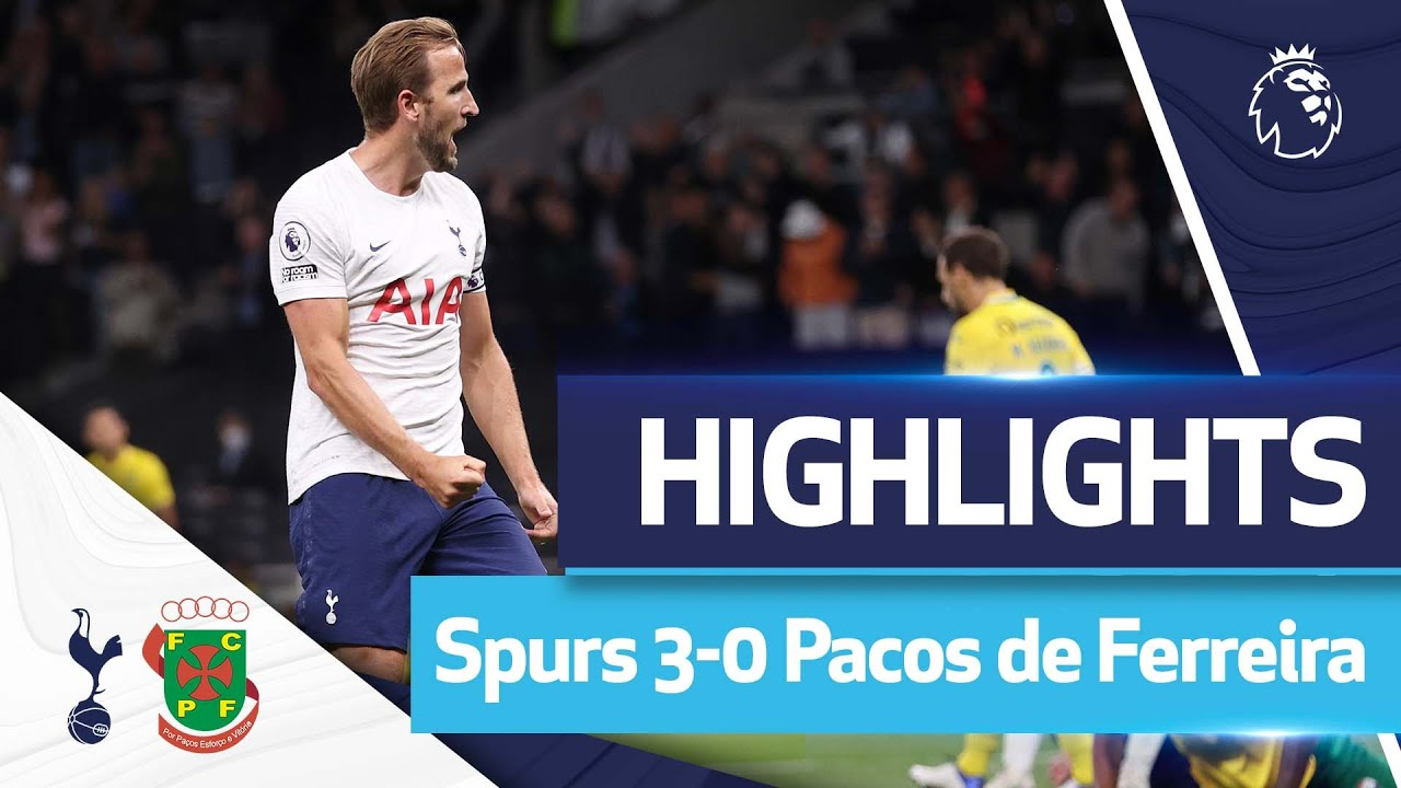 Download Kane bags his first brace of the season! HIGHLIGHTS   SPURS 3-0 PACOS DE FERREIRA