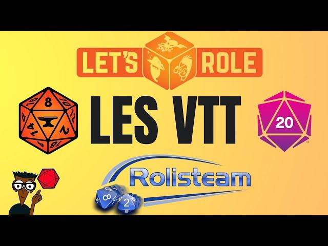 Les VTT pour les nuls + exemple Roll20