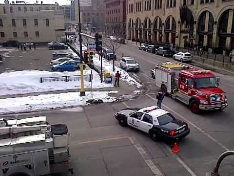 Minneapolis Underground Electrical Fire