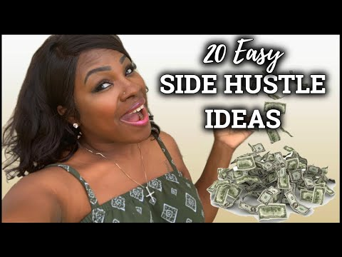 ✨HOW TO MAKE EASY MONEY💰 IN 2019✨ - 20 SIDE HUSTLE IDEAS | Tymara Williams