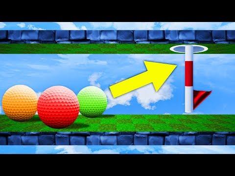 WEIRDEST ZERO GRAVITY GOLF COURSE! (Golf It)