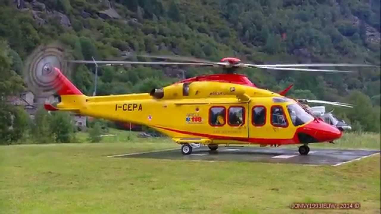 Elicottero 139 : Agusta bell 139 i cepa mountain rescue © youtube