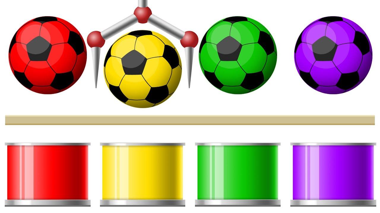 Учим цвета с мячиком | Развивающий мультик для детей ...