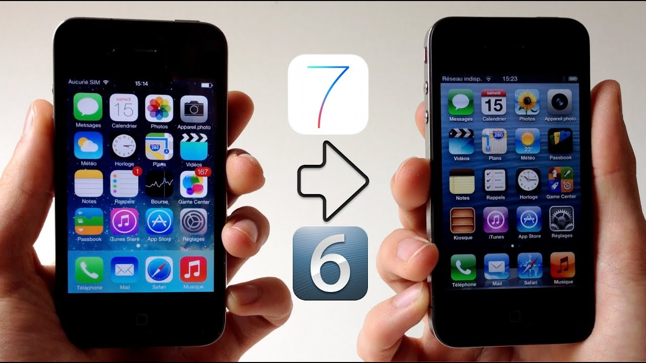 Downgrade iOS 7 Beta/GM vers iOS 6 (6 1 3 / 6 1 4) - iPhone 4, 4S, 5, iPad  2,3,4 Mini, iPod touch 5G