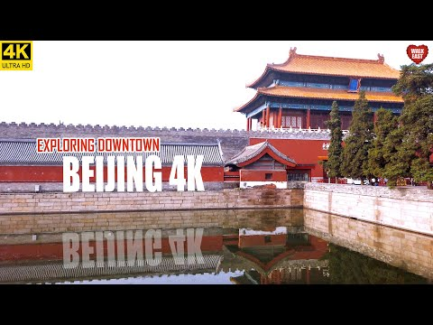 EXPLORE DOWNTOWN BEIJING | Central Downtown Area Around TIANANMEN Square | 北京 | 天安门广场周边游