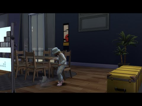 The Sims 4: City Living - Part 22: Dust Bunnies! |