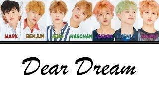 [2.87 MB] [Color Coded Lyrics] NCT DREAM - Dear Dream (Han/Rom/Eng)