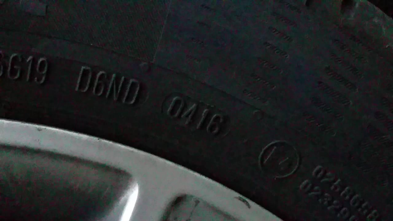 was bedeutet die dot nummer auf den autoreifen - wie alt sind die