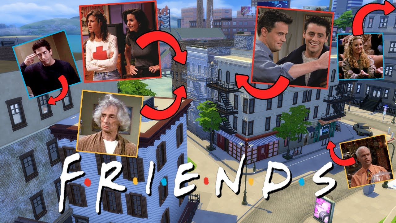 Download I Built Everyone's Apartment from F.R.I.E.N.D.S | 2021 UPDATE | The Sims 4 | No CC