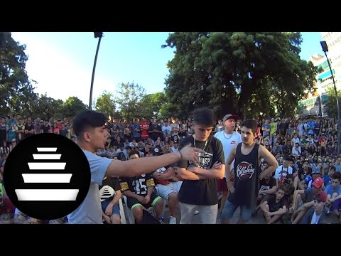 DOBLE J BULL vs LIT KILLAH BERNO vs TEGO ZIK vs BOOGIE ZAK - 8vos (2VS1 - 11/12)