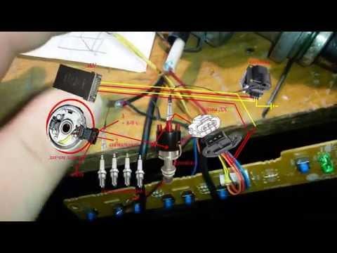 как проверить датчик холла vw b3 b4 и зажигание