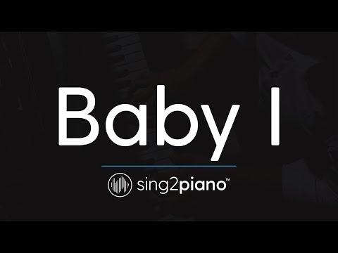 Baby I (Piano Karaoke Instrumental) Ariana Grande