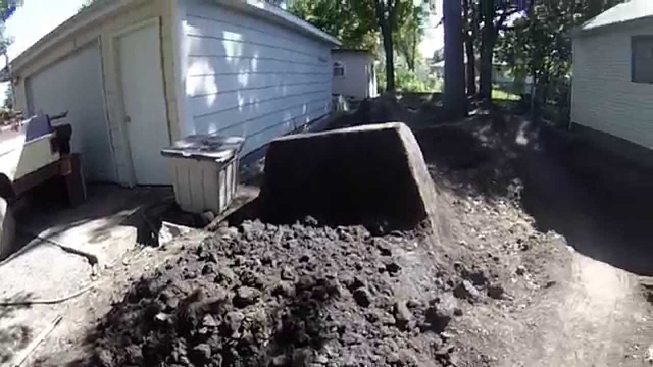 how to build a dirt jump youtube
