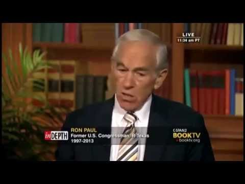 "Ron Paul ""To be an Anarchist is a great idea"""