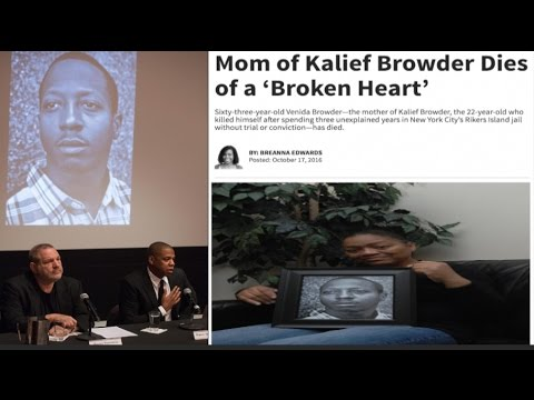 Kalief Browder's Mother Dies Of Heart Attack Days After Meeting with Jay- Z