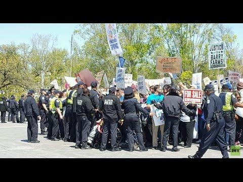 Democracy Spring day 3: More arrests, focus on Black Lives Matter