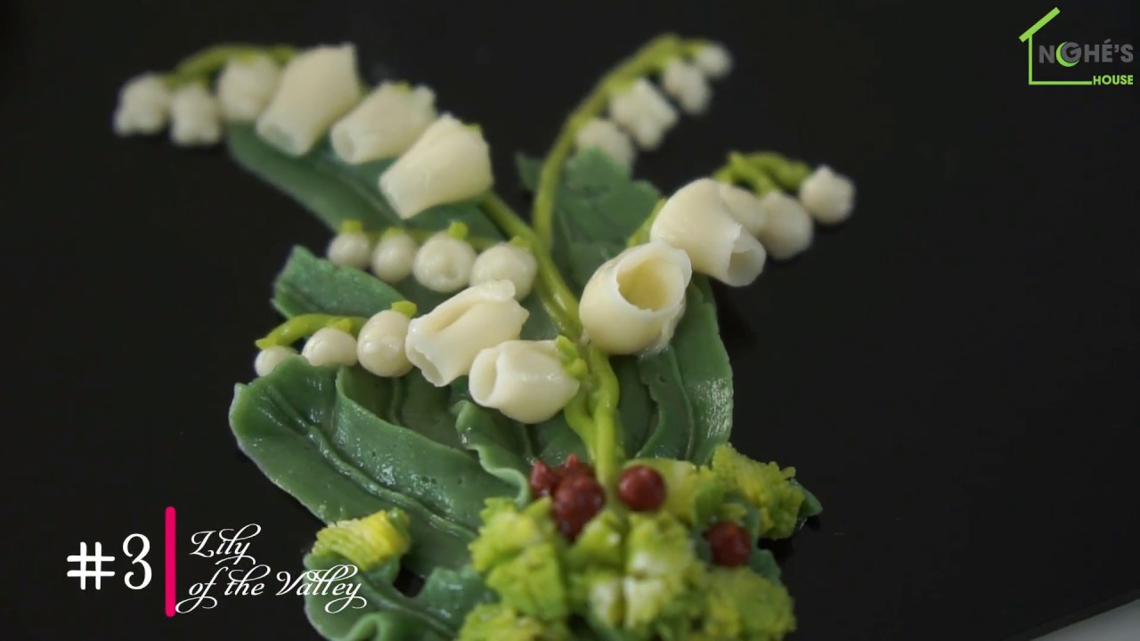3 Lily Of The Valley Basic Buttercream Flowers For Beginners