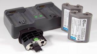ExPro EN-EL18 batteries in Nikon D800 grip