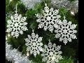 Review: Set of 20 Snowflake Christmas Ornaments Pearlized Winter Wedding Favor Frozen Birthday Party