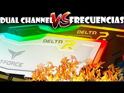 Dual channel o Mas frecuencia?? que seria mejor ? - RamTeamgroup Delta RGB
