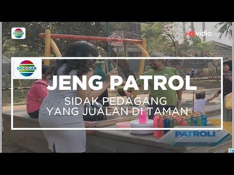 Sidak Pedagang Yang jualan di Taman - Jeng Patrol