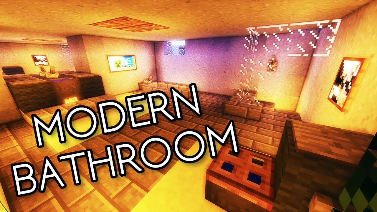 Bathroom decor ideas shower curtains - Tutorial 14 How To Build A Large Modern Bathroom Hd Youtube