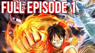 One Piece Pirate Warriors 3 English Sub Full Episode 1 Walkthrough  - Full HD (One Piece)