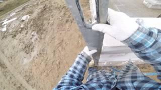 S01E39 Jak wybudowac dom? Murowanie ścian nośnych z betonu komórkowego. Budowa domu 2017