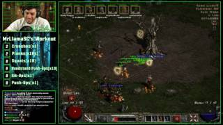 Diablo 2 - 8 Man Hell Speedrun! - 5:24:53
