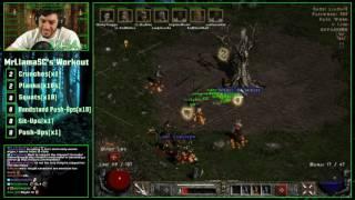 Diablo 2 - 8 Man Hell Speedrun! - 5:24:53