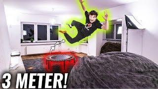 TRAMPOLIN fürs Wohnzimmer gekauft! **Stunts**