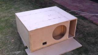 t line sub enclosure build part 2