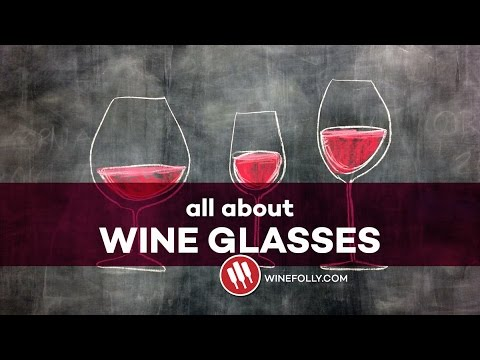 All About Wine Glasses