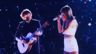 ✤ Taylor Swift And Ed Sheeran Singing Tenerife Sea ✤