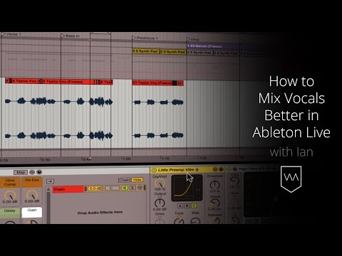 How to Mix Vocals Better in Ableton Live