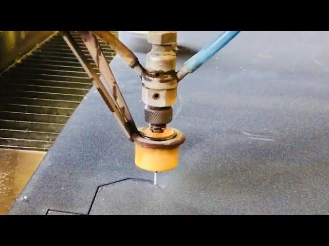 WATER CUTTING AT CHE C.H.EVENSEN INDUSTRIOVNS - VLOG64
