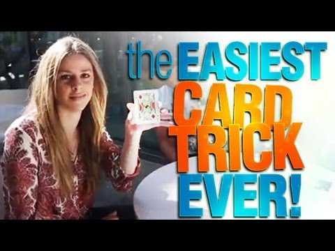 The Easiest Card Trick Ever