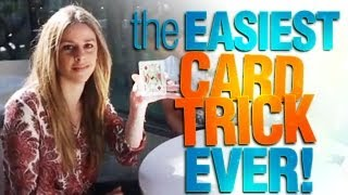 The EASIEST Card Trick Ever!
