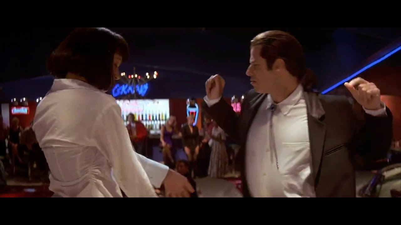 Pulp Fiction Uma Thurman And John Travolta Dancing Scene Youtube