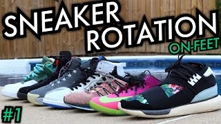 This Weeks Sneaker Rotation On-Feet #NumeroUno