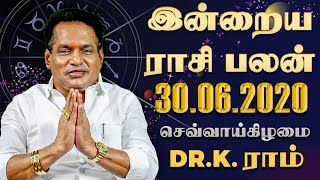 Raasi Palan 30-06-2020 Rajayogam Tv Horoscope