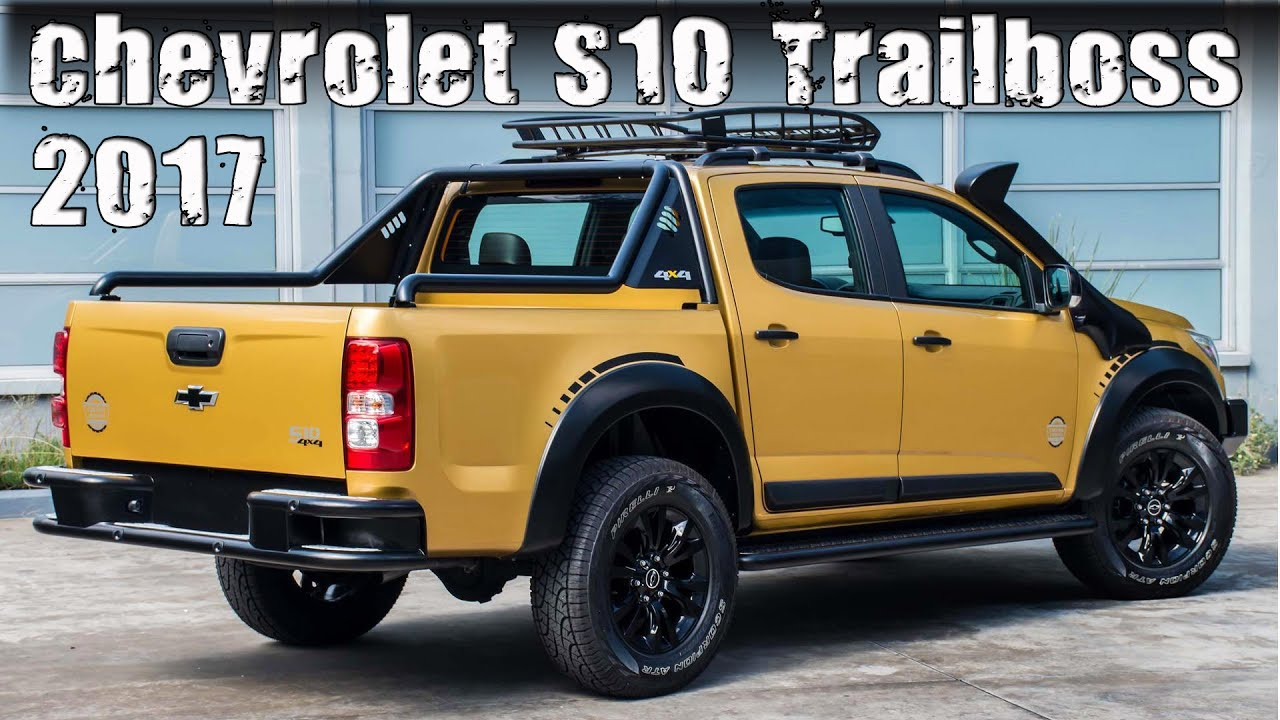 2017 Chevy S10 >> All New 2017 Chevrolet S10 Trailboss Concept