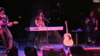 Christina Grimmie live at Selena Gomez