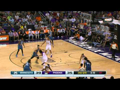 Seimone Augustus with the Nasty Crossover and 3 Pointer!
