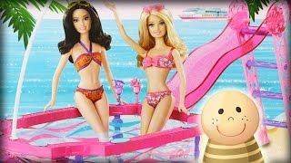Przyjęcie w Ogrodowym Basenie: Ken i Barbie- Baw się z nami