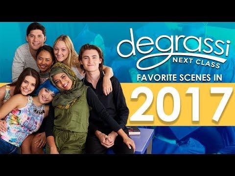 Degrassi: Next Class Favorite Scenes In 2017