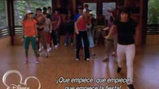 Camp rock: start the party (traducida español)