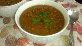 Soupe de Lentilles / شوربة العدس / Moroccan Lentil Soup